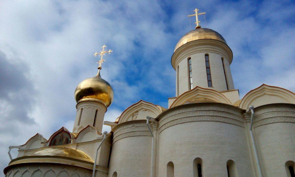 Собор Троицы Живоначальной Троице-Сергиевой Лавры.