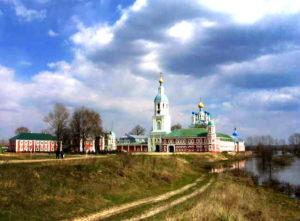 Вид Санаксарского монастыря