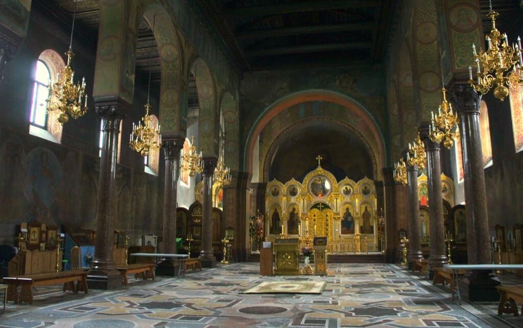 Церковь Сергия Радонежского в форме базилики