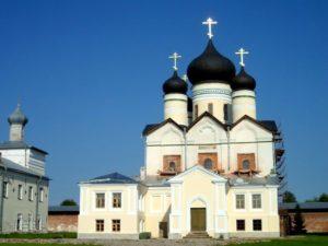 Троицкий Зеленецкий мужской монастырь. Церковь Троицы Живоначальной