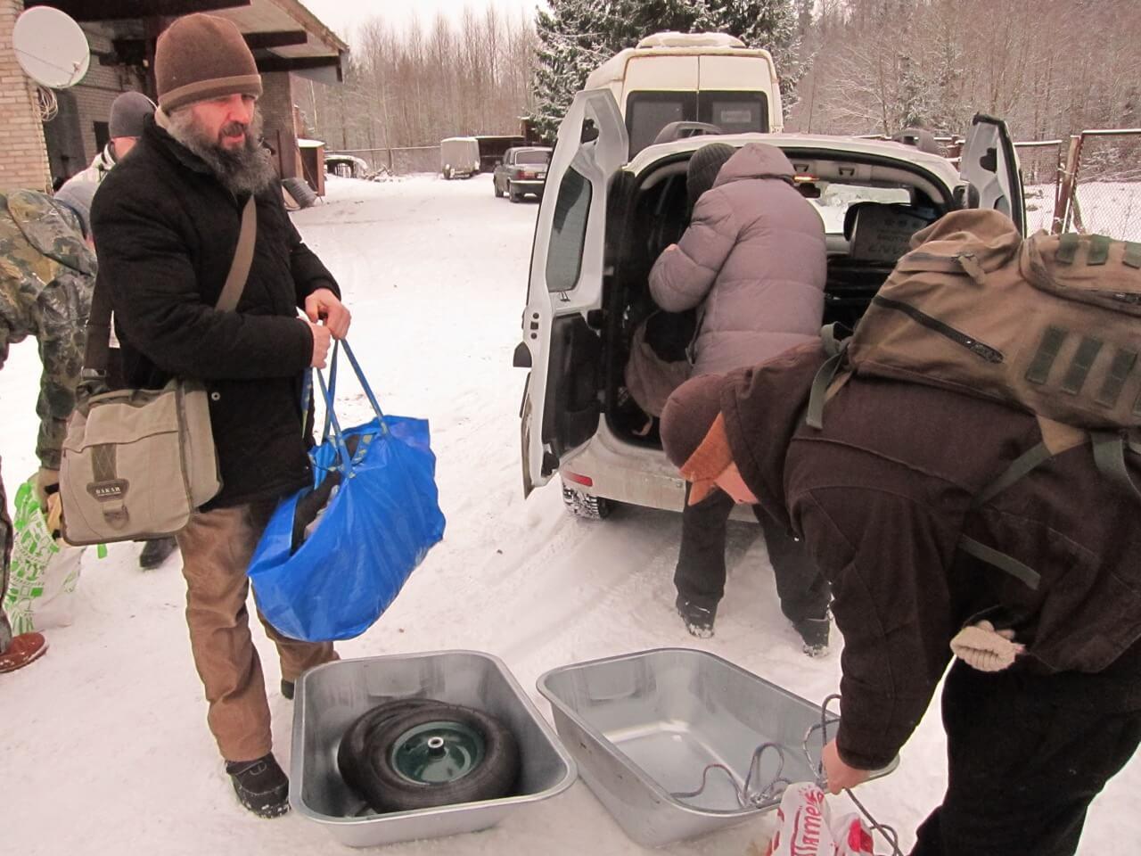Паломники собирают припасы для насельников Макарьевской пустыни