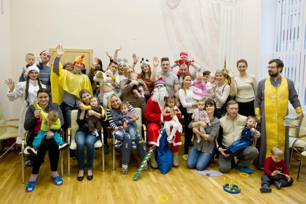 Родители, дети и молодёжный клуб