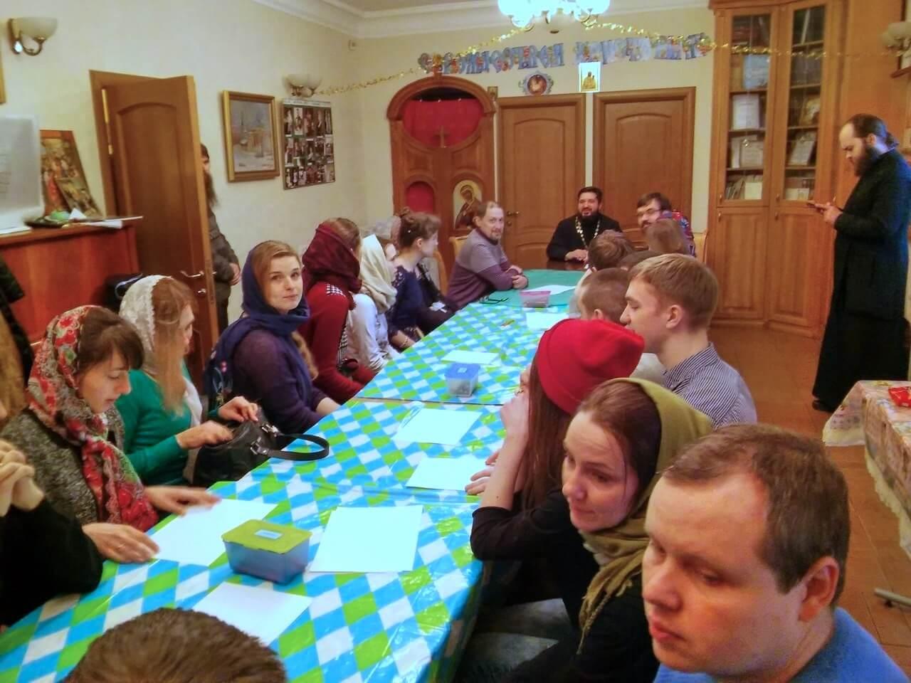 Встреча молодёжи 22 января 2017 - собрание