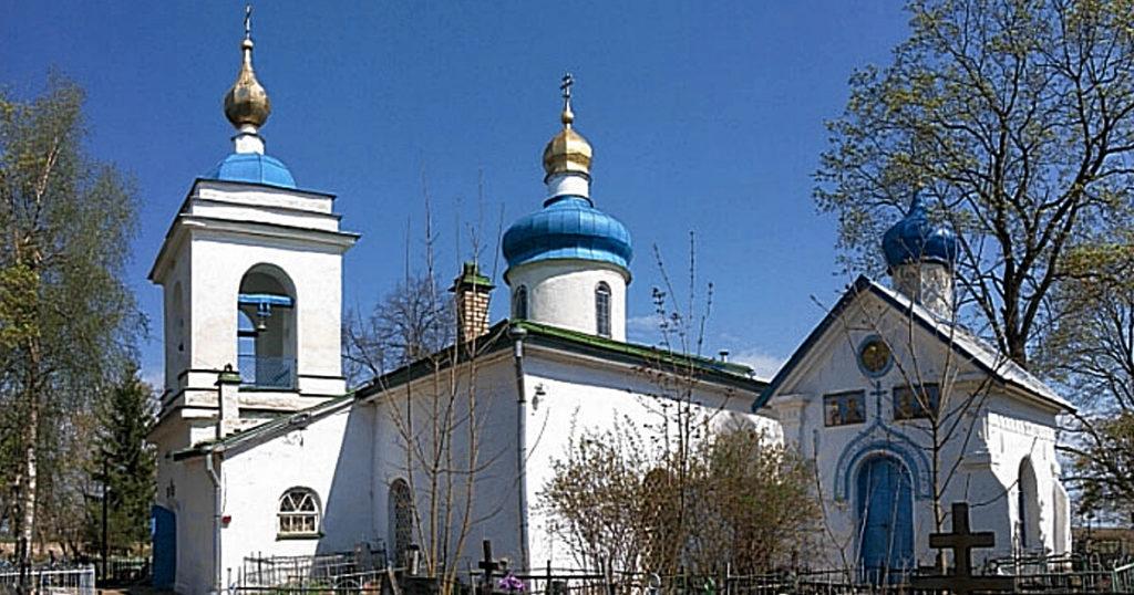 Храм вмч. Георгия Победоносца (XV в.) в д. Камно