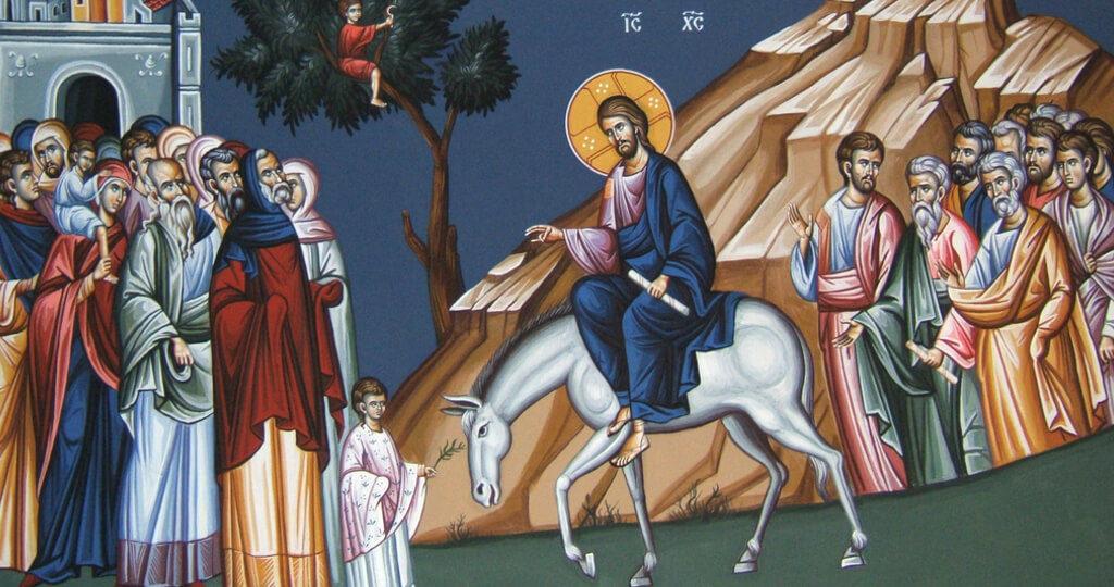 Вход Господень в Иерусалим. Переломный момент Великого поста