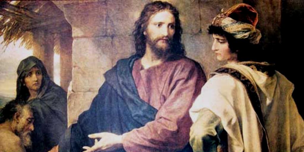 трудно богатому войти в Царство Небесное