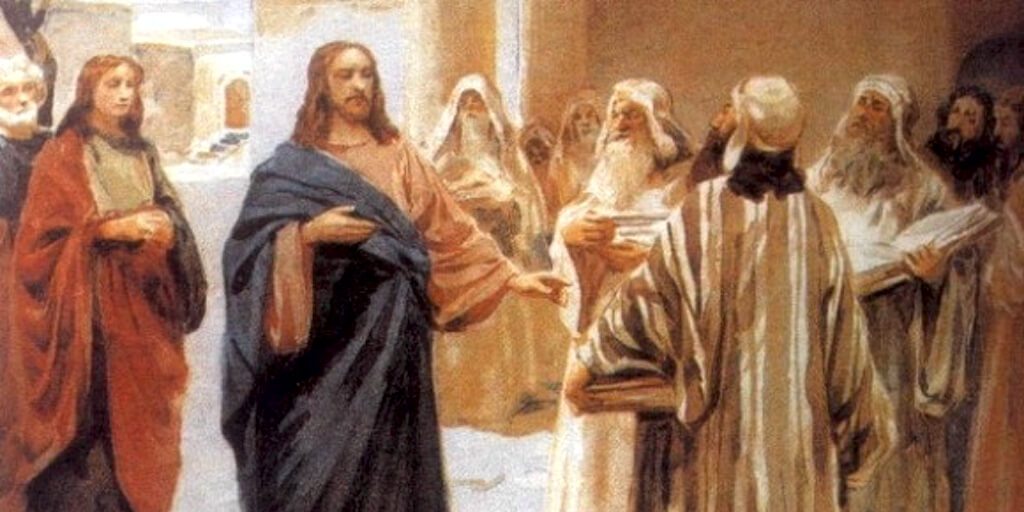 Обличение фарисеев