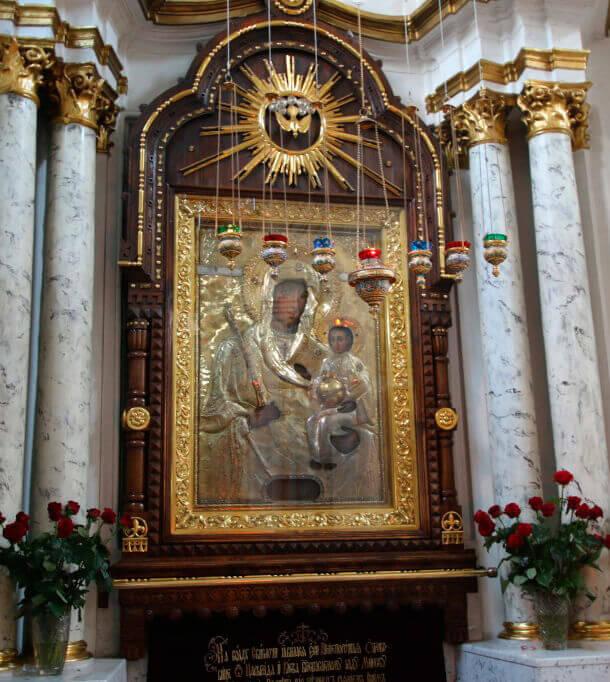 Минская икона Божией Матери в Свято-Духовом кафедральном Соборе