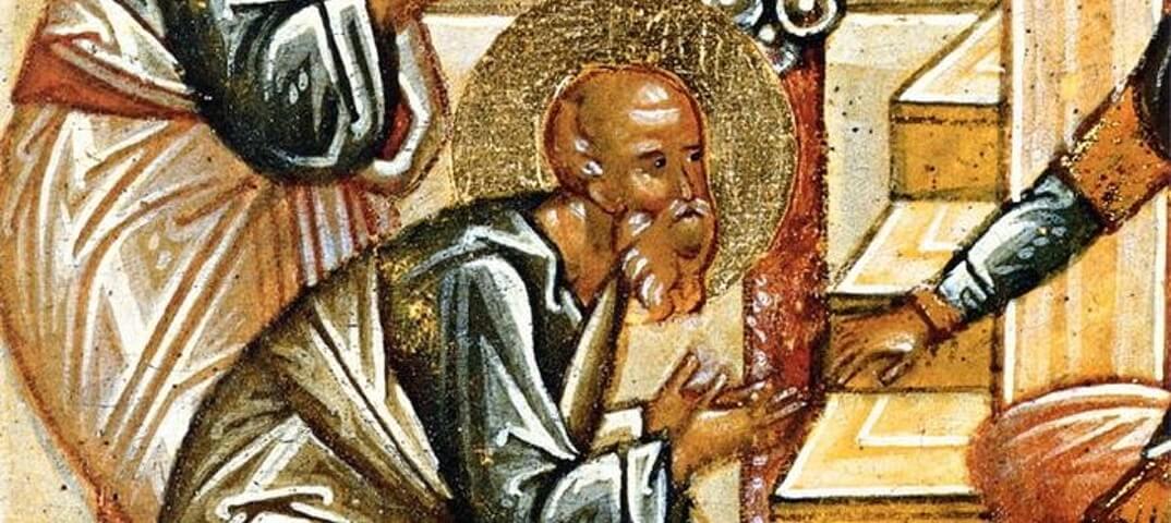 Святой Никодим, фрагмент иконы