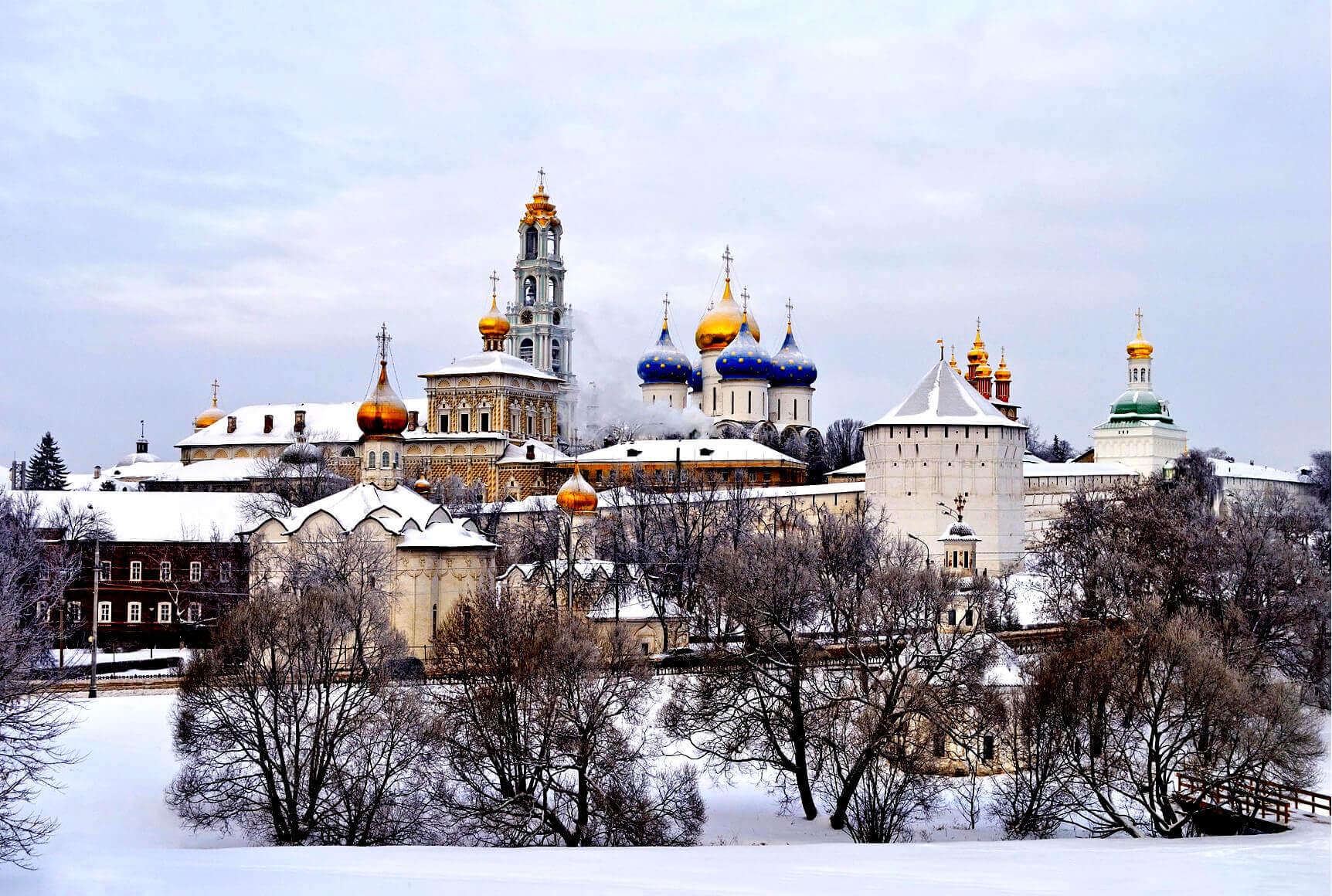Паломничество в Свято-Троицкую Сергиеву Лавру