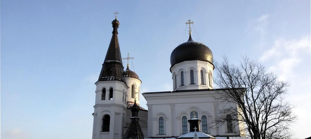 Паломничество: Константино-Еленинский монастырь
