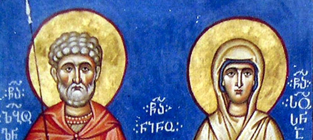 Преподобные Завулон и Сусанна