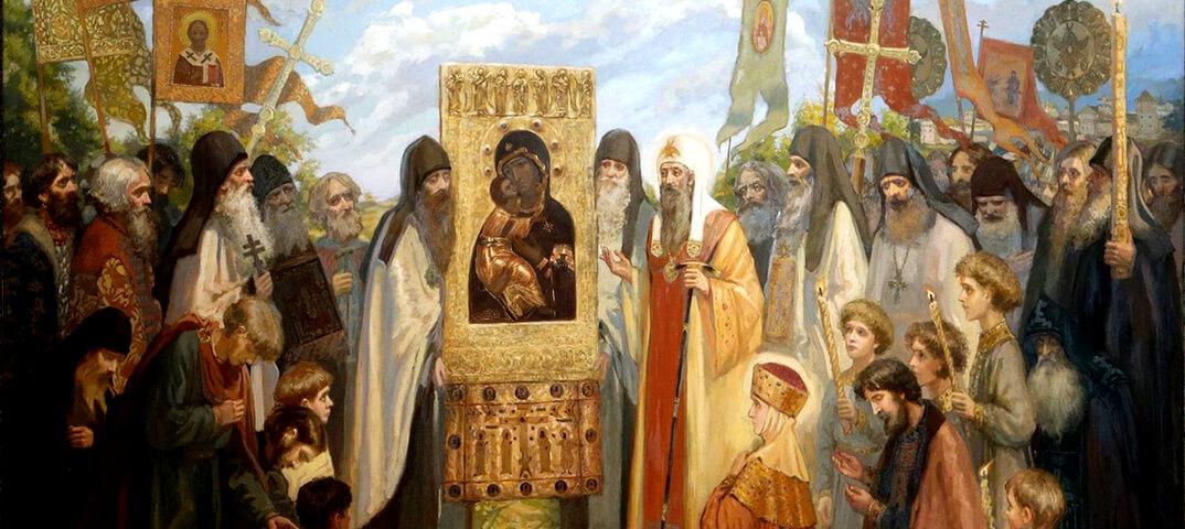 Сретение Владимирской иконы