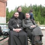 Июнь 2011 года, с отцом Виталием.