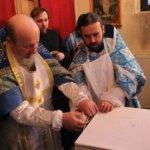 Освящение престола в приделе Утоли Моя Печали. Февраль 2012 года